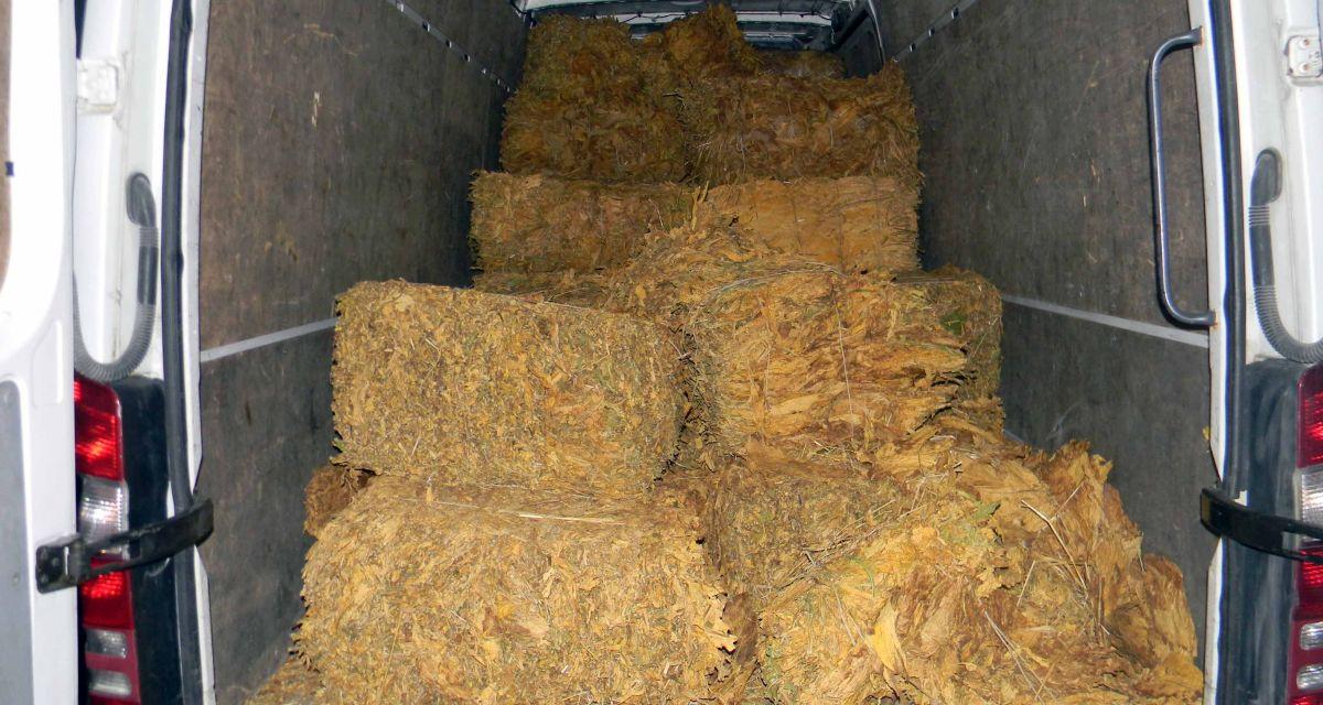 Заплењено тона и 730 килограма дувана у листу