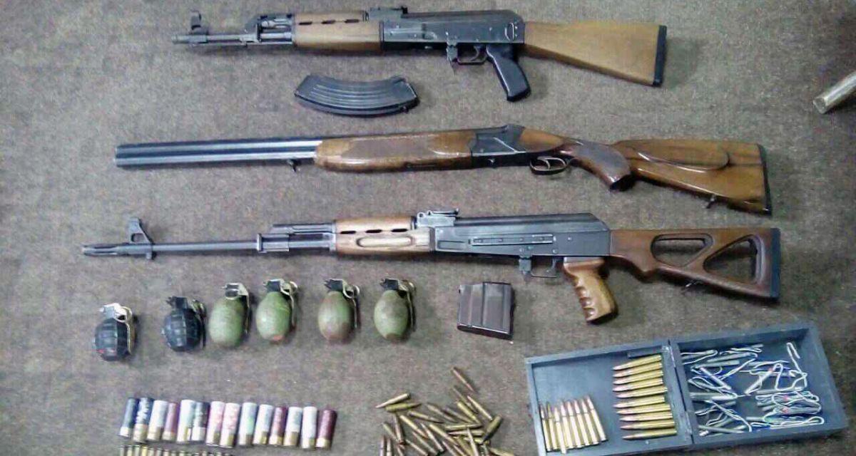 Арсенал оружја у Малом Зворнику