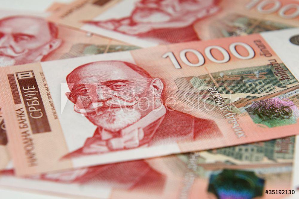 Prosečene zarade u Srbiju u aprilu 54.645 dinara