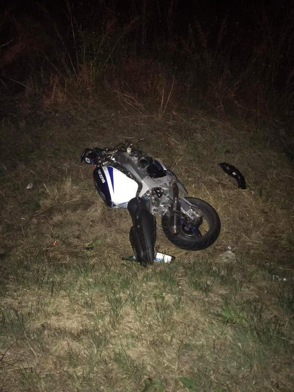 Teško povređen motociklista