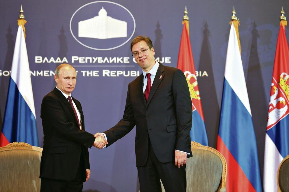 Путин завршио посету Србији