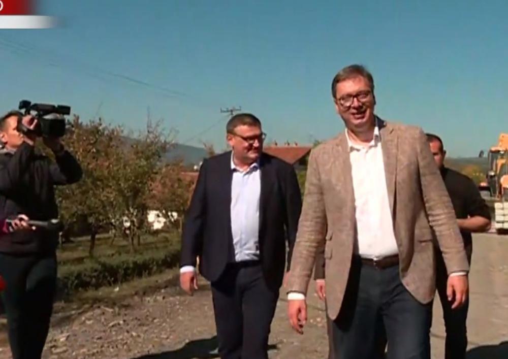 Vučić obilazi Toplički okrug