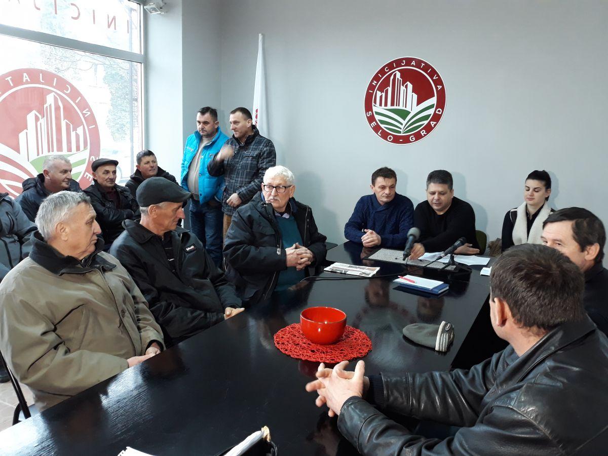 Састанак чланова Иницијативе Село-град