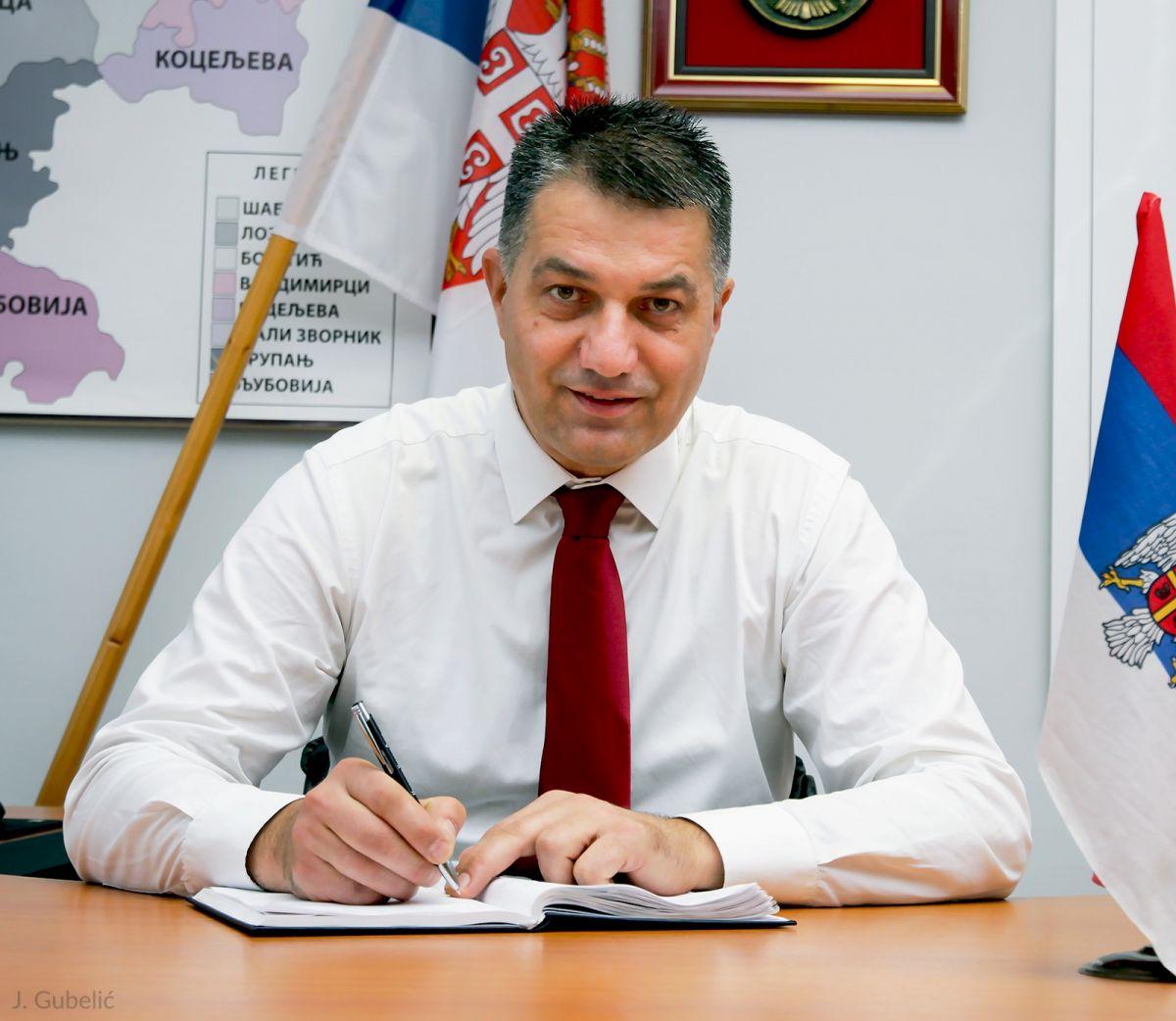 Načelnik MUO, Vladan Krasavac