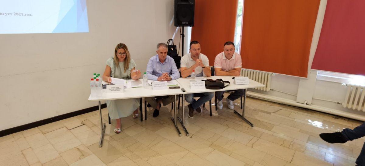 Кабинет начелника МУО: Седма седница Скупштине ПД Еко Тамнава