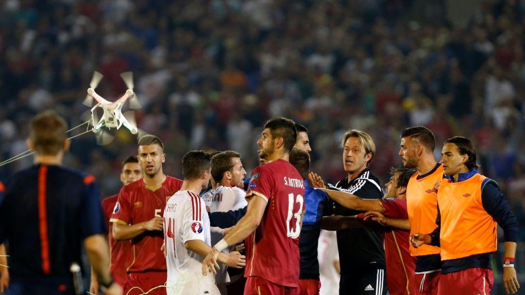 Beograd, stadion Partizana, 14.10.2014.(foto: voanews.com)