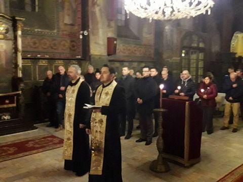 Помен Оливеру Ивановићу у шабачкој цркви