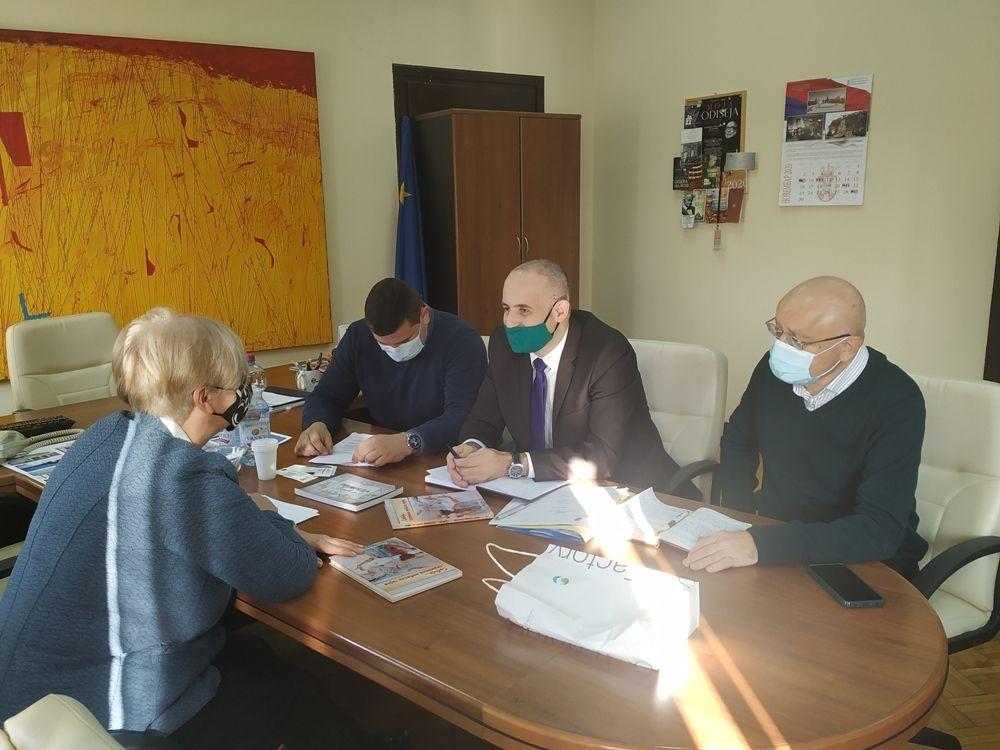 Radni sastanak predstavnika opštine Bogatić u Ministarstvu kulture i informisanja