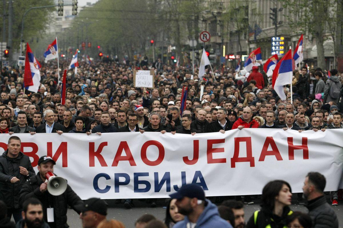 Danas novi protest Jedan od pet miliona u Beogradu