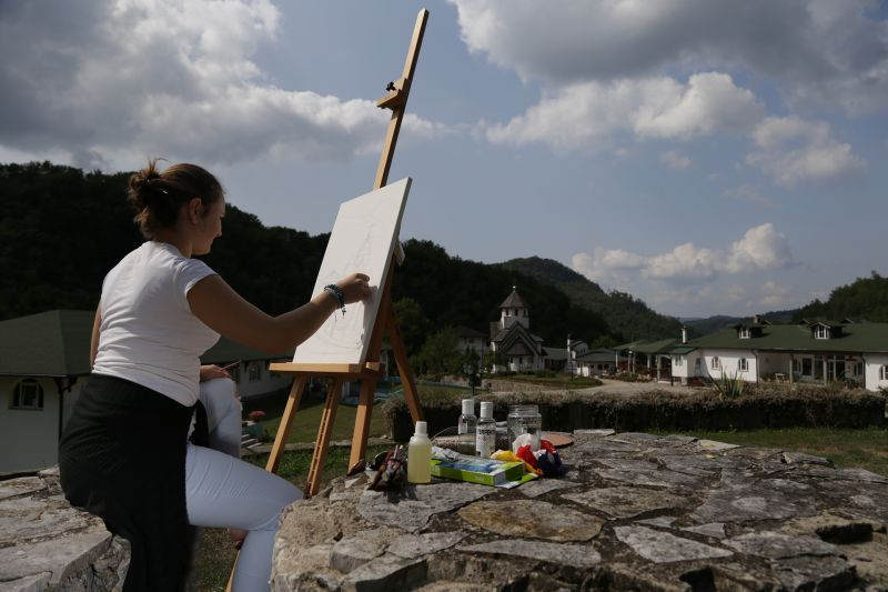 U Manastiru Soko umetnička kolonija ŠPU