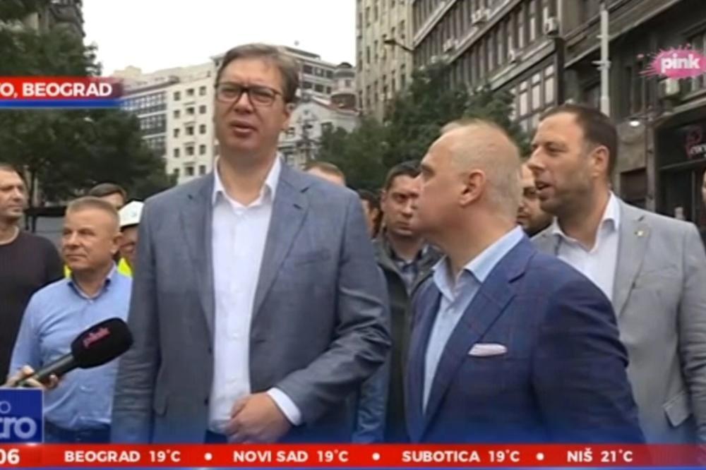 Vučić brani Vesića
