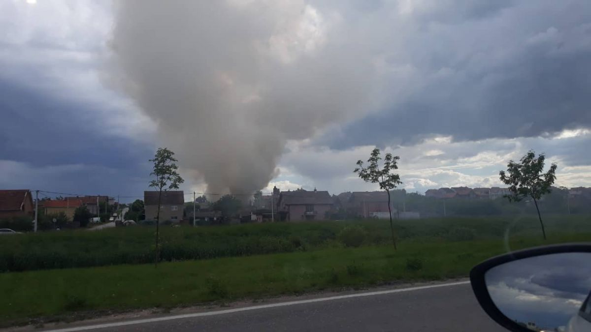 Požar na Letnjikovačkoj kosi