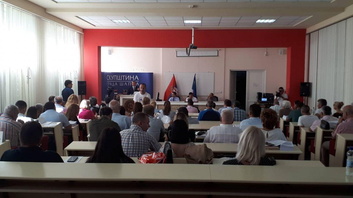 Počela sednica Skupštine grada Šapca