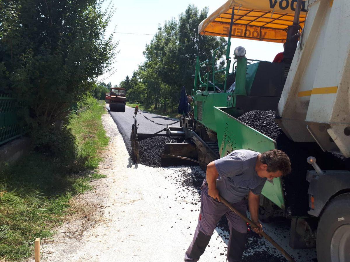 Rekonstrukcija puta kroz Malu Vranjsku