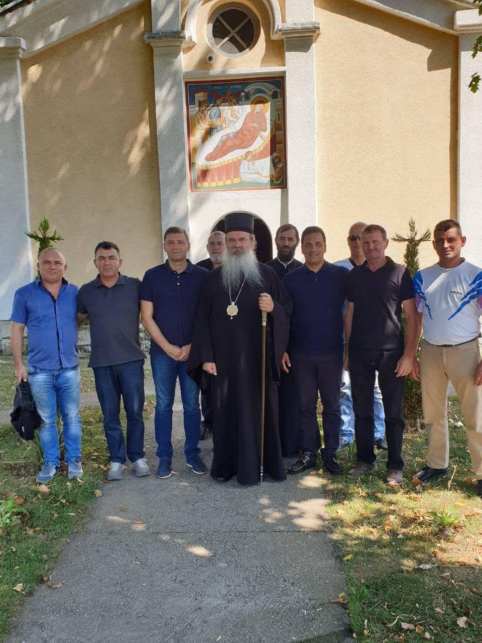 Predstavnici Šapca posetili Srbe u Goraždevcu