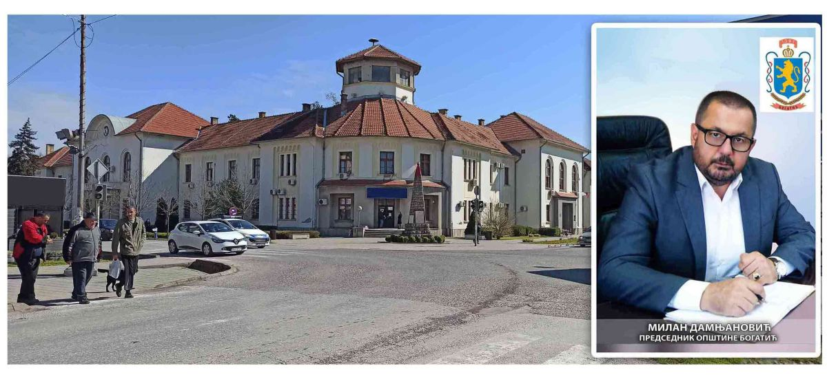 Saopštenje za javnost predsednika opštine Bogatić Milana Damnjanovića