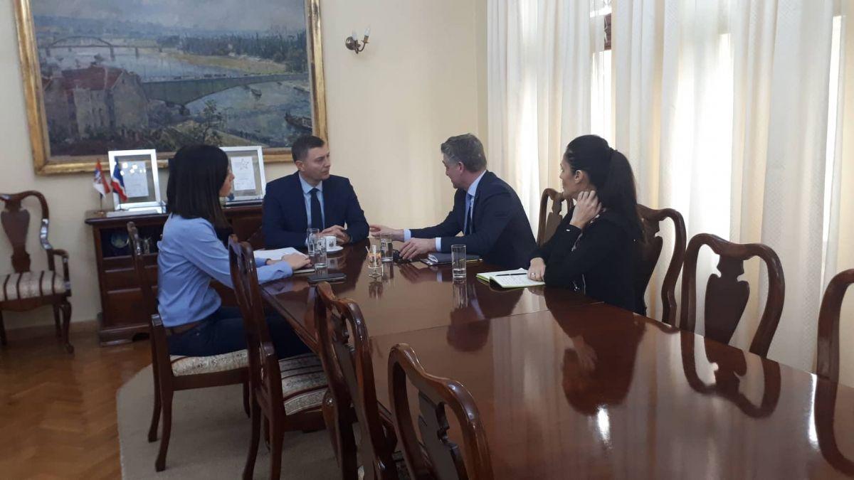 Šef misije Saveta Evrope posetio Šabac