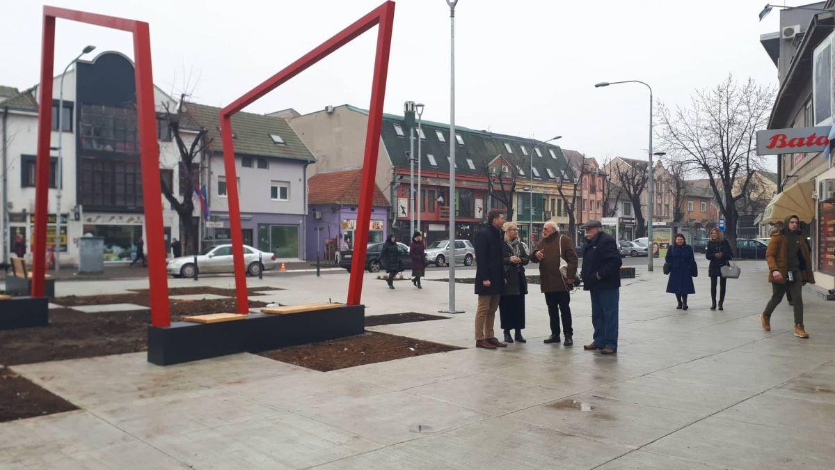 Građani će voleti Vinaverov trg