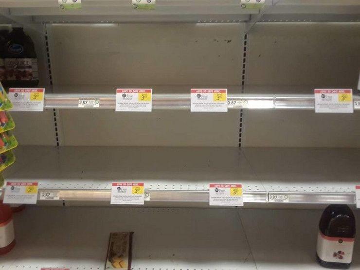 U prodavnicama na severu Kosova nedostaju osnovne životne namirnice