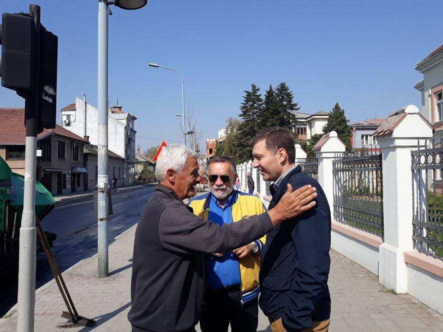 Asfaltiranje ulice Koste Abraševića