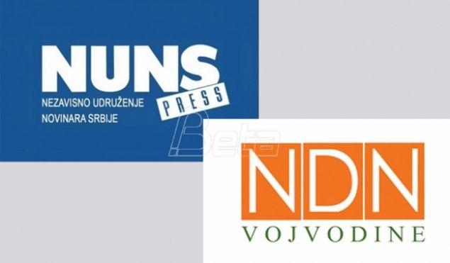 НУНС и НДНВ: Власт користи инспекцијске службе против медијских слобода