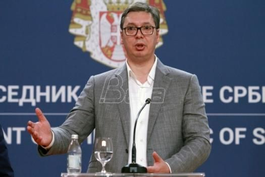 Vučić: Ostavka Haradinaja politički trik, Srbija mora da