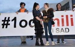 "Večeras 16. protest ""Jedan od pet miliona"" u Novom Sadu"