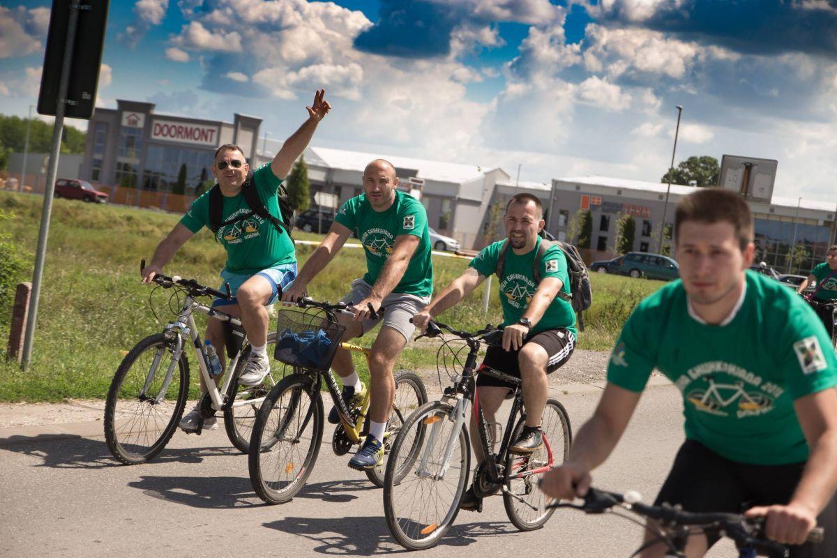 Foto sa prošlogodišnje Biciklijade