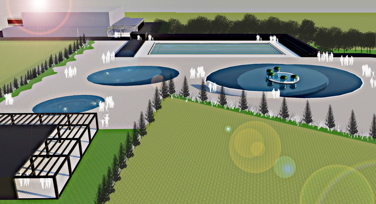 Izgradnja otvorenog olimpijskog bazena