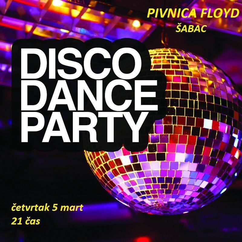 У четвртак, 5. марта, у Пивници Floyd: Disco Dance Party