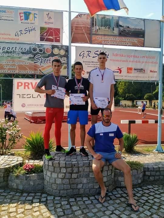Jovanović drugi u Srbiji