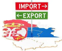 Pad spoljnotrgovinske razmene Srbije u prvom polugodištu 7,7 odsto