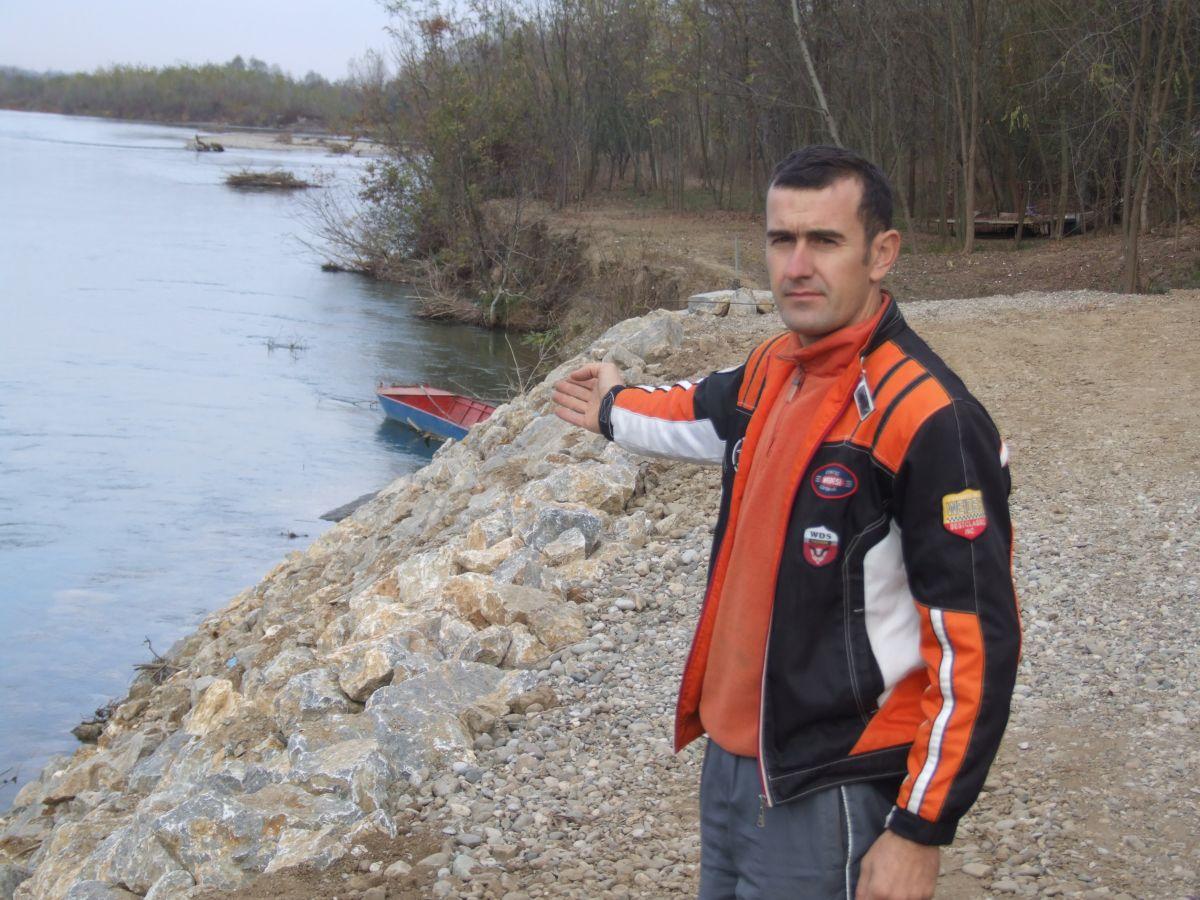 Заштита обале Дрине код Бадовинаца