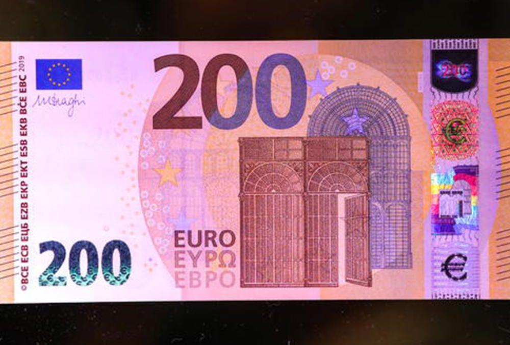 Od 28. maja - nove novčanice od 100 i 200 evra