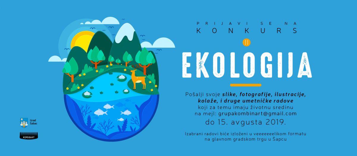 Produžen rok za slanje radova na konkurs: Ekologija