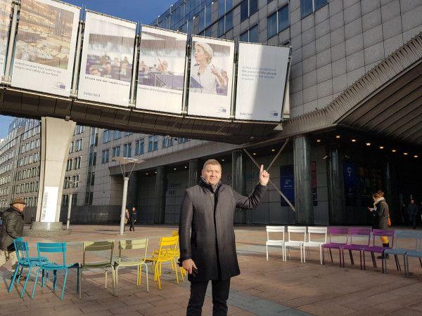 """Зеленовић на трибини """"Србија у трци за слободне изборе"""" у Европском парламенту"""