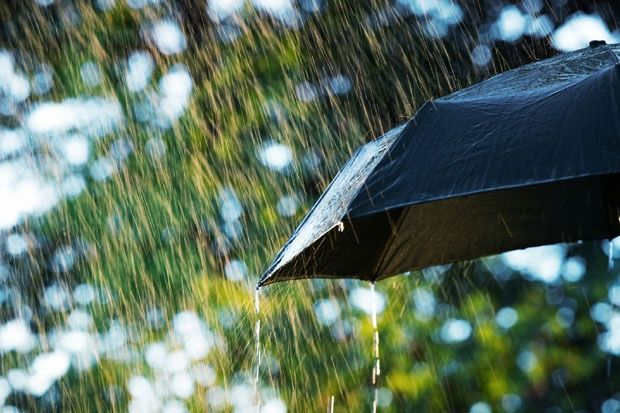 Toplo, sparno, kišovito
