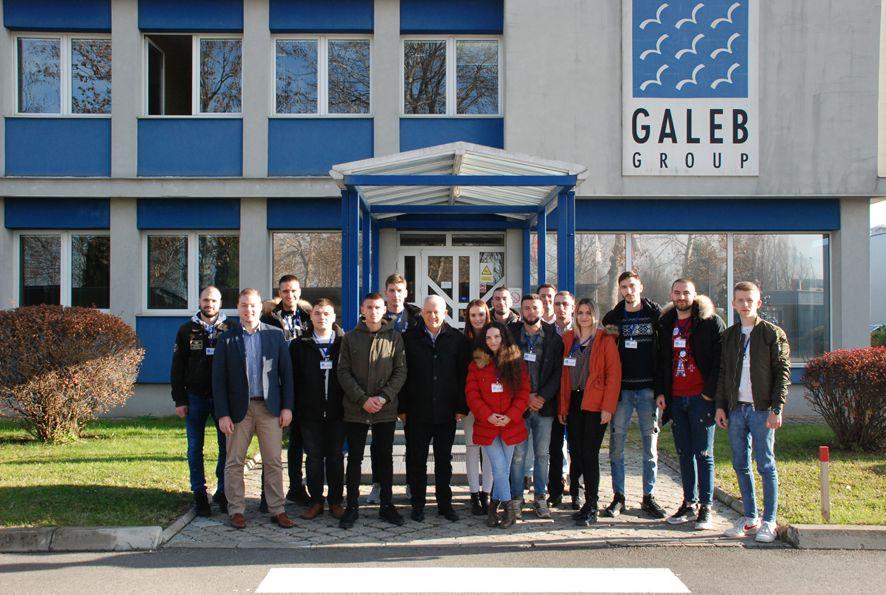 "Studenti iz Kosovske Mitrovice posetili ""Galeb"""