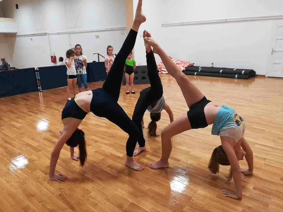 Gimnastika: vežbanje  životnih veština