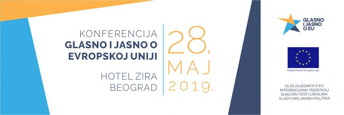 """Zelenović govori na konferenciji """"Glasno i jasno o Evropskoj uniji"""""""