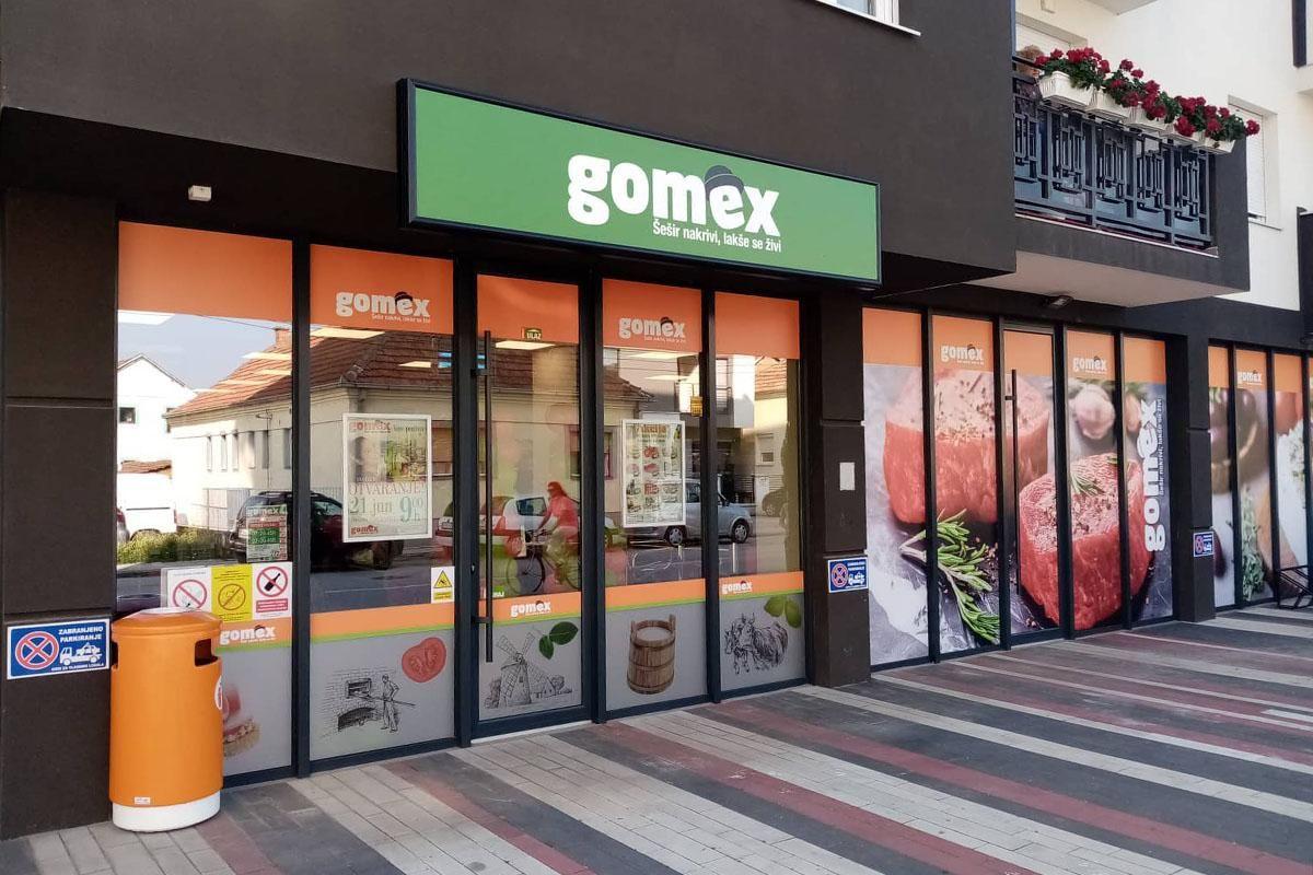 Izmenjeno radno vreme Gomex-ovih objekata
