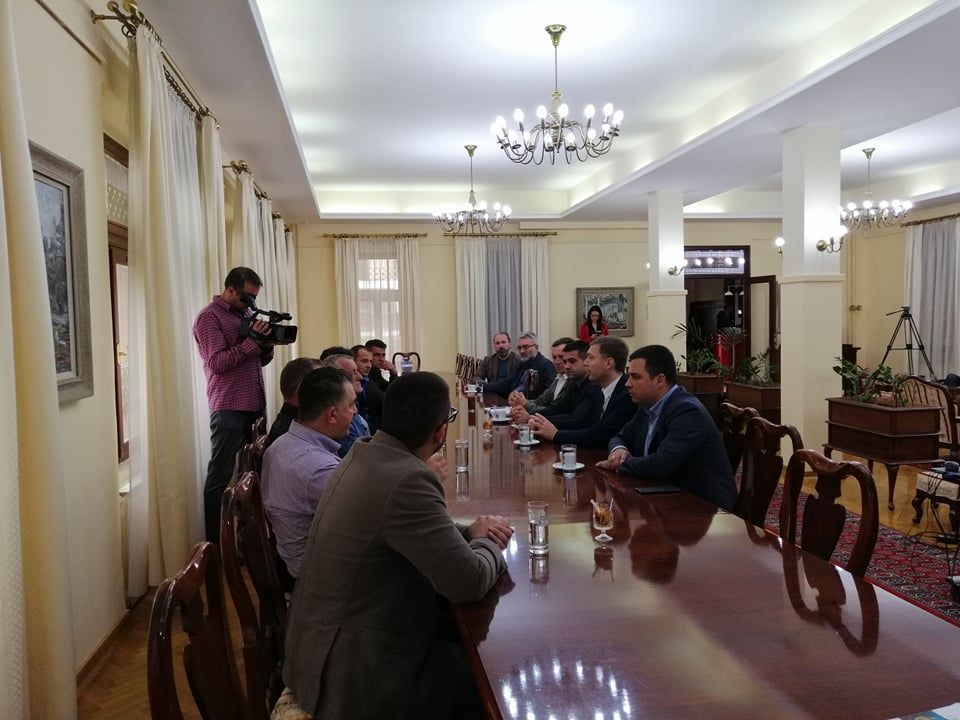 Delegacija iz Goraždevca u Šapcu