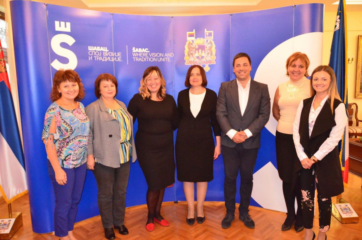 Представници града са гостима из Русије