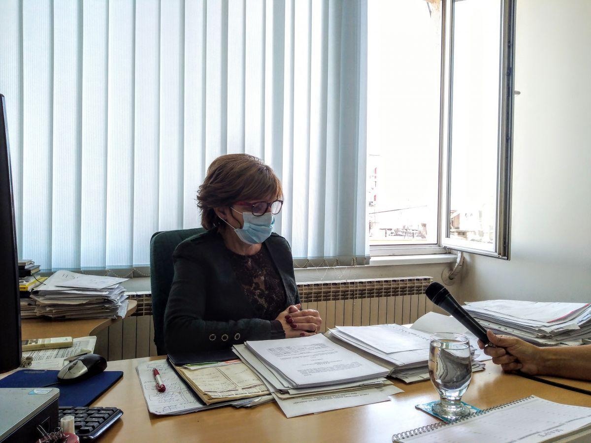 marijana kostadinović,  načelnica ODELjENjA ZA FINANSIJE