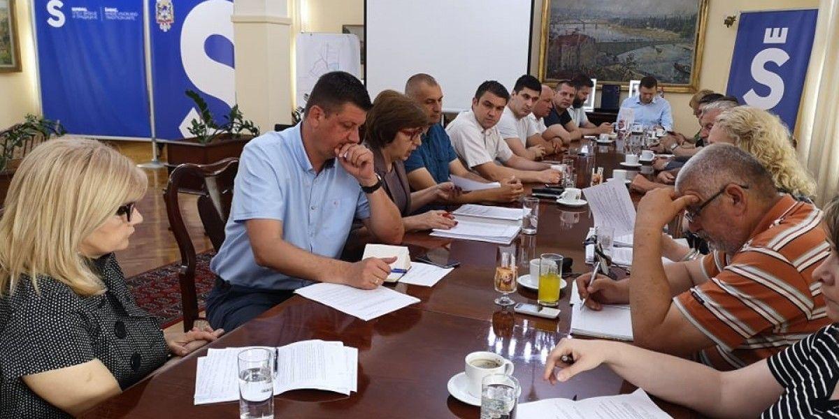 Gradsko veće usvojilo predlog dnevnog reda za 31.sednicu Skupštine grada Šapca