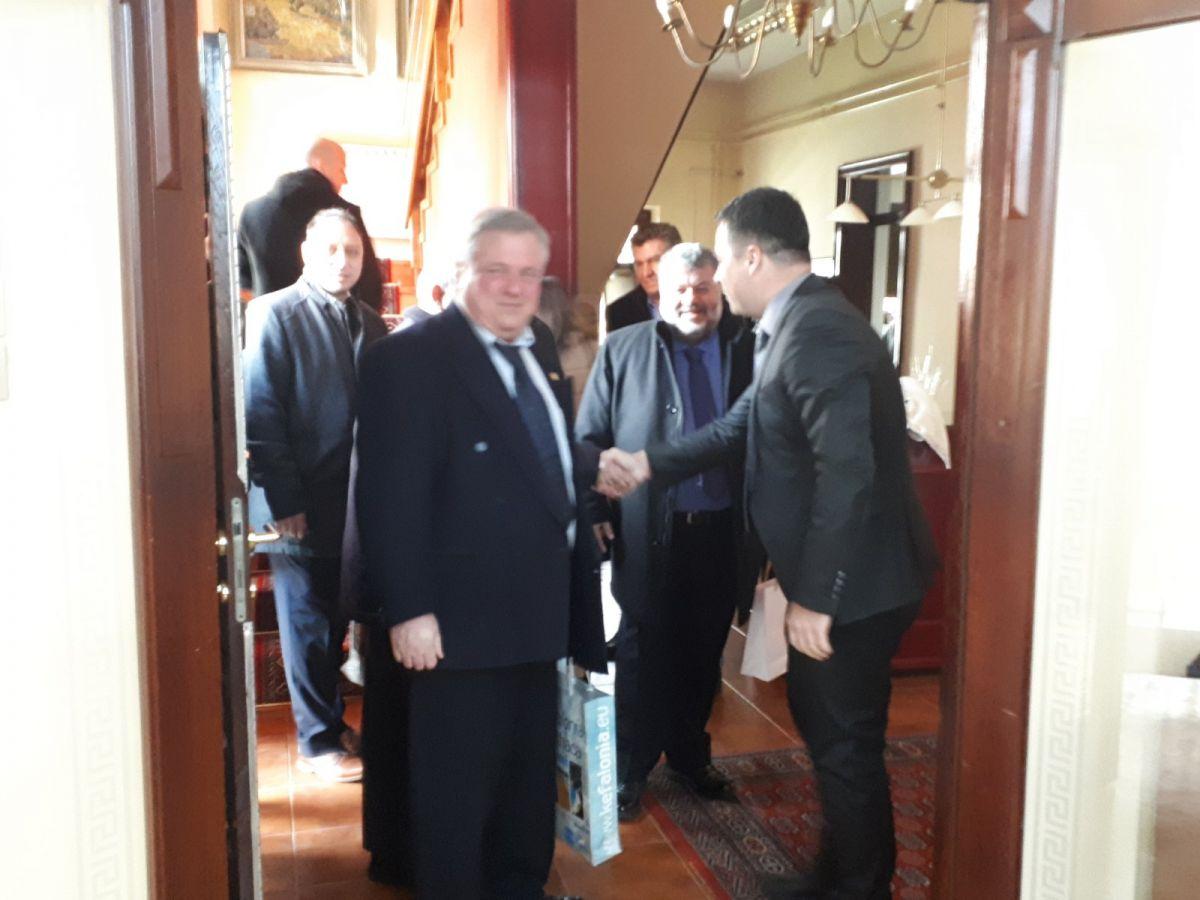 Danas u Gradskoj kući upriličen prijem za delegaciju iz Argostolija