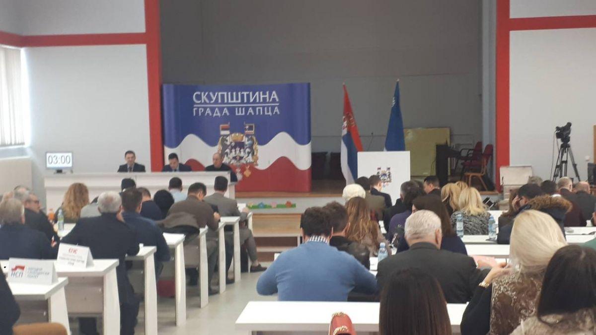 Sutra sednica Skupštine Grada Šapca