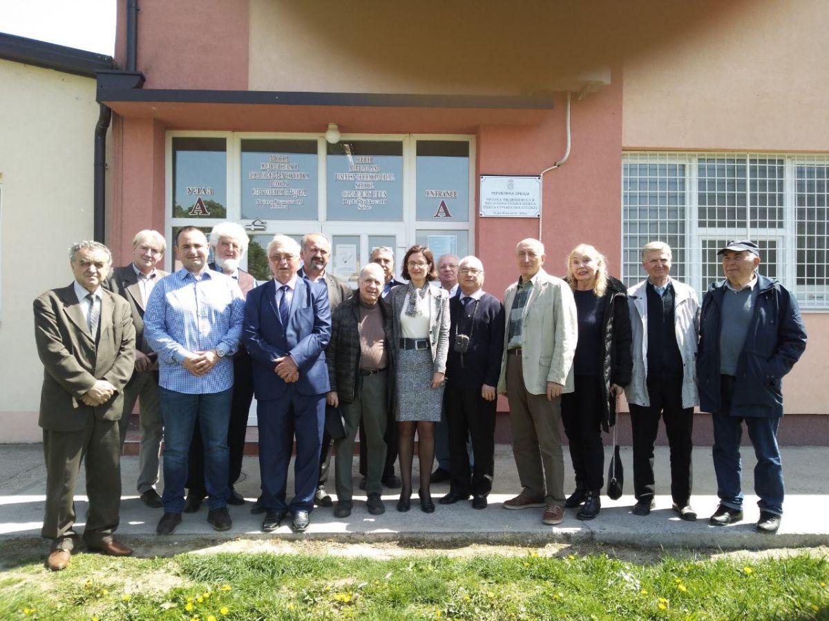 Ruski naučnici u Višoj tehnološkoj školi u Šapcu