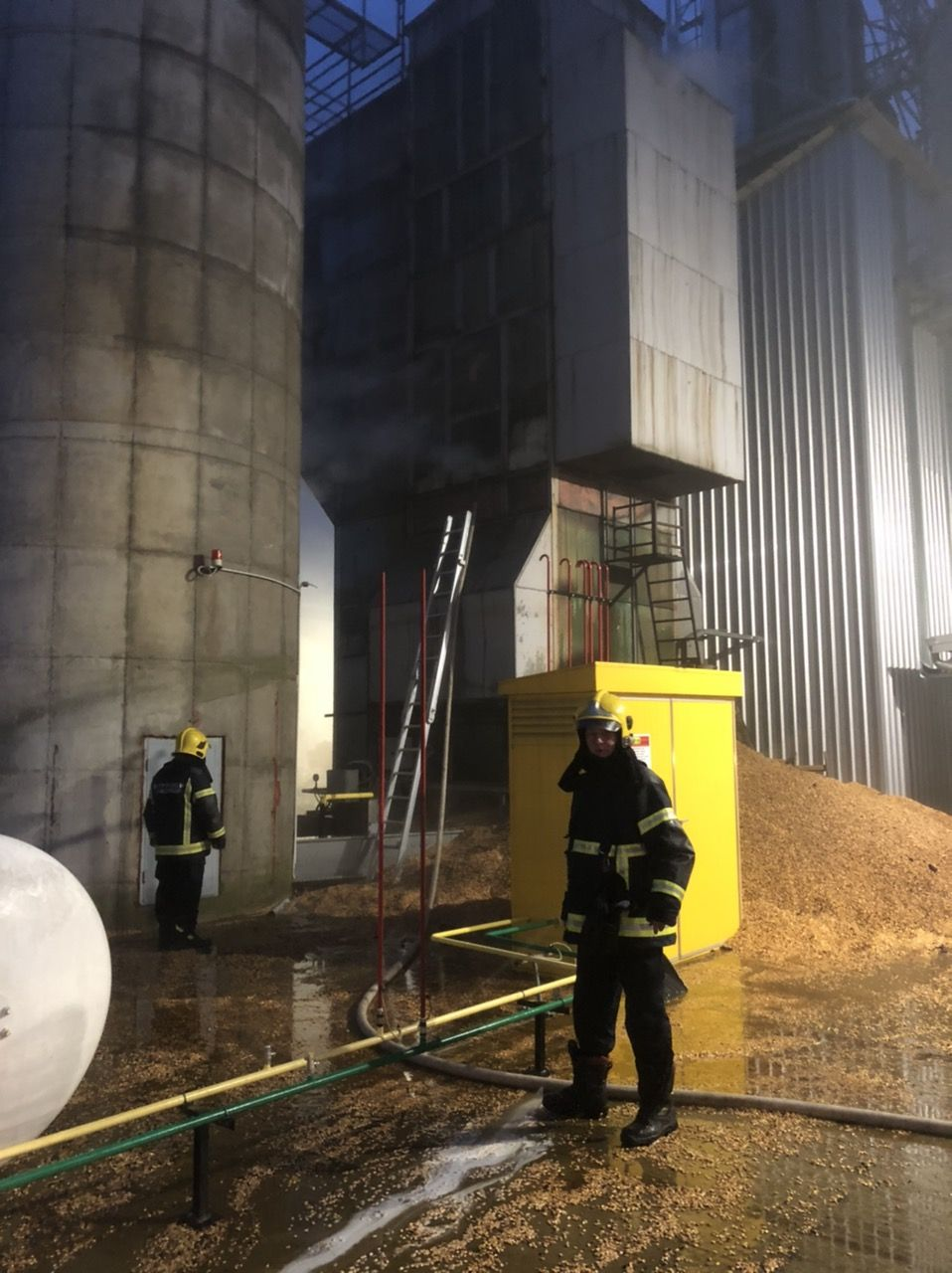 Požar u silosu