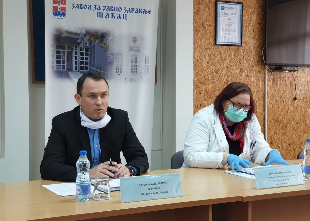 Prvi slučaj virusa u Šapcu